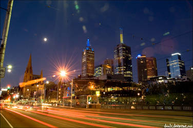 Shiny Melbourne by droolz