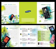 MP3 promo brochure by Nicoletta-Natalia