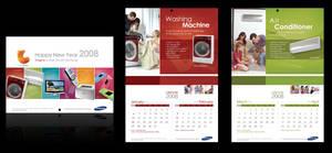 2008 Samsung Calendar by Nicoletta-Natalia