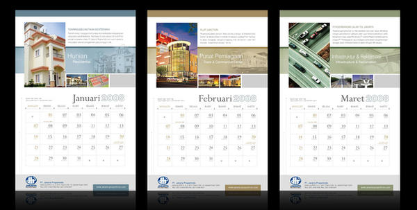 Corporate Wall Calendar Design Sample : Jakpro wall calendar by nicoletta natalia on deviantart