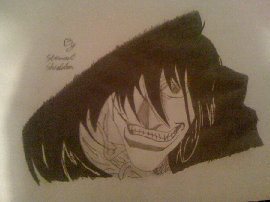 Alucard Hellsing from Hellsing by captonstu