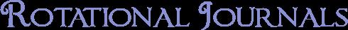 Text Rotational Journals by LifesparkAlchemist