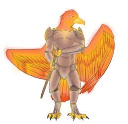 Phoenix Knight by salaiek