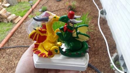 Dragon Cake Topper by salaiek