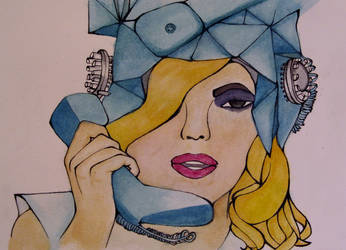 Telephone for a friend by LimitedEternity