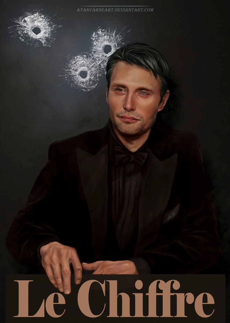 Le Chiffre. by AtanvarneArt