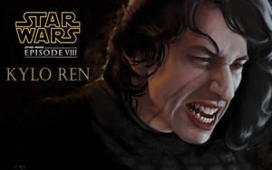 Kylo Ren.The Last Jedi. by AtanvarneArt