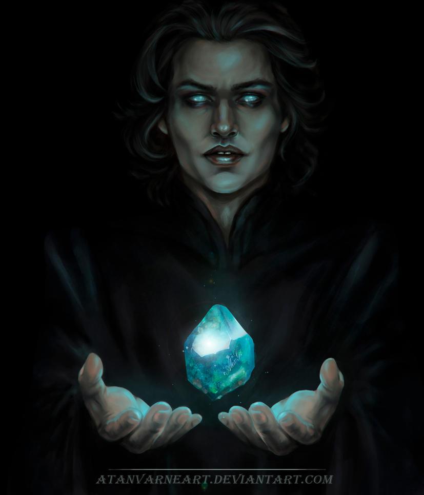 The sorcerer doesn't doze by AtanvarneArt