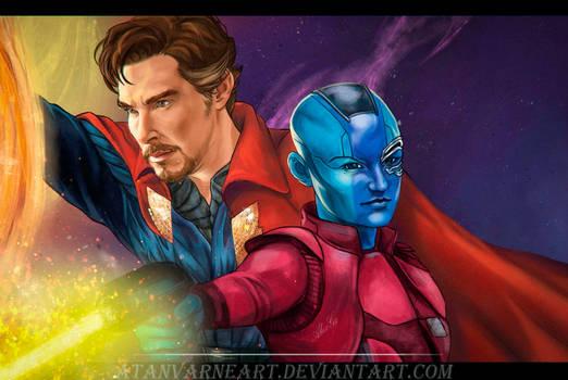 Doctor Strange.Nebula.Avengers: Endgame