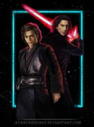 Anakin Skywalker. Kylo Ren. Shadow. Renewed