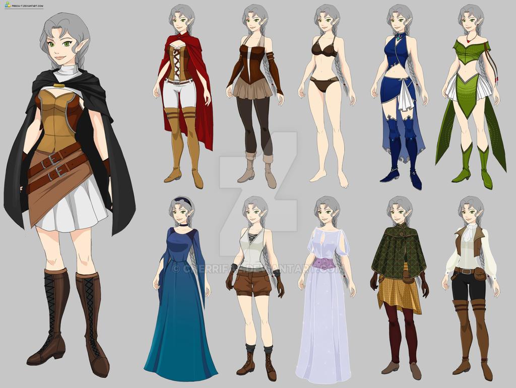 Elara Wardrobe  By Precia-T by cherrifae