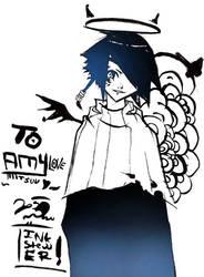 TO AMWEE AKA MITSUUU T3T by inkstewer