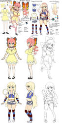 Himari and Lily Reference Sheet