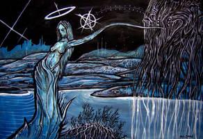 Black Metal Goddess by CaptainBeyond