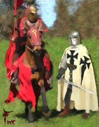 the Teutonic Knight by fmr0