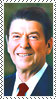 Stamp  -  Reagan by fmr0