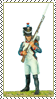 Stamp  -  Napoleonic Wars French Fusilier by fmr0