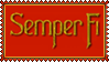 Stamp - Semper Fi by fmr0
