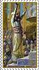 Stamp  -  Solomon Dedicates the Jerusalem's Temple