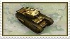 Stamp - Churchill Tank by fmr0
