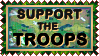 Stamp  -  Support the Troops by fmr0