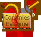 Stamp  -  Commies Hate Me