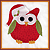 Icon - Christmas Owl by fmr0