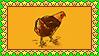Stamp - Chicken by fmr0
