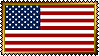 Stamp - US Flag by fmr0