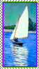 Stamp - White Sails by fmr0