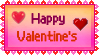 Stamp - Happy Valentine's by fmr0