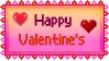 Stamp - Happy Valentine's by fmr0
