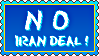 Stamp - No Iran Deal by fmr0