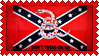 Stamp  -  Confederate Flag - Don't Tread on me by fmr0