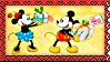 Stamp - XMas Mickey