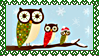 Stamp - XMas Owls by fmr0