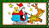 Stamp - Santa Claus