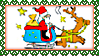Stamp - Santa Claus by fmr0