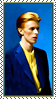Stamp - David Bowie by fmr0