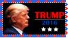 Stamp - Trump 2016