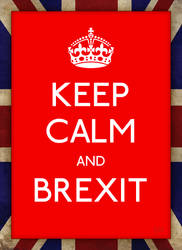 Keep Calm and Brexit by fmr0