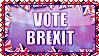 Stamp - Vote Brexit by fmr0