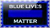 Stamp - Blue Lives Matter by fmr0