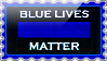 Stamp - Blue Lives Matter by fmr0