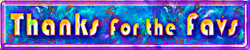 Banner - Thanks for the Favs