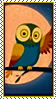 Stamp - Owl by fmr0