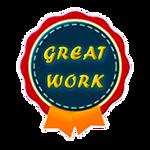 Award - Great Work