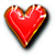 icon - Red Heart by fmr0