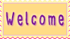 Stamp - Welcome by fmr0