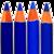 Icon - Blue Pencils